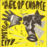 Click here for more info about 'Age Of Chance - Motor City + Insert'