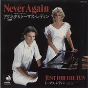 Click here for more info about 'Agnetha Fältskog - Never Again + PR'