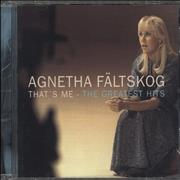 Click here for more info about 'Agnetha Fältskog - That's Me - The Greatest Hits'