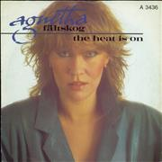 Click here for more info about 'Agnetha Fältskog - The Heat Is On - A Label'