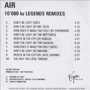 Click here for more info about 'Air (French) - 10,000 hz Legends Remixes'
