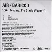 Click here for more info about 'Air (French) - City Reading: Tre Storie Western'