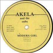 Click here for more info about 'Akela And The Cubs - Modern Girl'