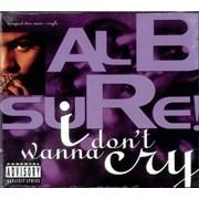 Al B. Sure! I Don't Wanna Cry - Sealed USA CD single Promo