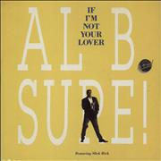 Click here for more info about 'Al B. Sure! - If I'm Not Your Lover'