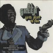 Click here for more info about 'Al Green - Gets Next To You'