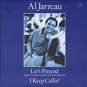 "Al Jarreau Let's Pretend UK 12"" vinyl"