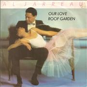 "Al Jarreau Our Love UK 7"" vinyl"