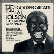 Click here for more info about 'Al Jolson - 20 Golden Greats'