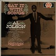 Click here for more info about 'Al Jolson - Say It With Songs'