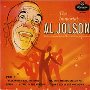 Click here for more info about 'Al Jolson - The Immortal Al Jolson Part 1'