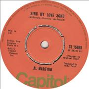 Click here for more info about 'Al Martino - Sing My Love Song'