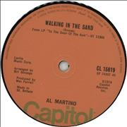 Click here for more info about 'Al Martino - Walking In The Sand - Solid'
