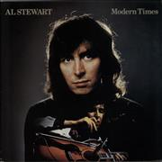 Click here for more info about 'Al Stewart - Modern Times - graduated orange'
