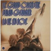 Alain Goraguer La Vie En Rose France vinyl LP
