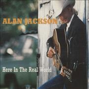 Click here for more info about 'Alan Jackson - Here In The Real World'