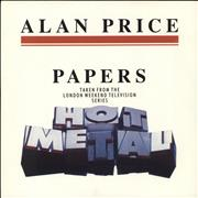 Click here for more info about 'Alan Price - Papers'