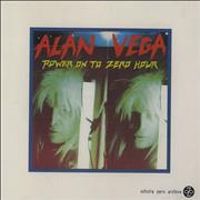 Click here for more info about 'Alan Vega - Power On To Zero Hour'