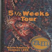 Click here for more info about 'Alanis Morissette - 5½ Weeks Tour'