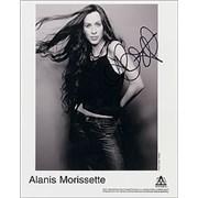 Click here for more info about 'Alanis Morissette - Alanis Morissette - AUTOGRAPHED'