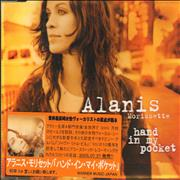 Alanis Morissette Hand In My Pocket - Japanese Stickered Case Japan CD single Promo