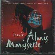Alanis Morissette Ironic - Sealed Ecopak USA CD single