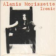 Alanis Morissette Ironic - sealed Germany CD single