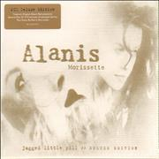 Alanis Morissette Jagged Little Pill - Deluxe Edition UK 2-CD album set