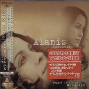 Alanis Morissette Jagged Little Pill Acoustic Japan CD album