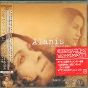 Alanis Morissette Jagged Little Pill Acoustic Japan CD album Promo