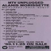 Click here for more info about 'Alanis Morissette - MTV Unplugged'