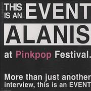 Click here for more info about 'Alanis Morissette - Pinkpop Interview'