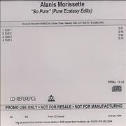 Click here for more info about 'Alanis Morissette - So Pure - Pure Ecstasy Edits'