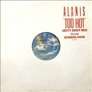 Click here for more info about 'Alanis Morissette - Too Hot'