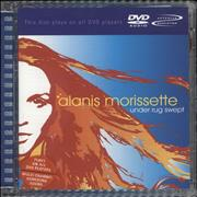 Alanis Morissette Under Rug Swept Germany DVD-Audio disc
