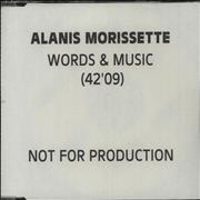 Click here for more info about 'Alanis Morissette - Words & Music'