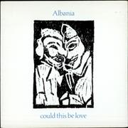 "Albania Could This Be Love UK 7"" vinyl Promo"