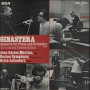 Click here for more info about 'Alberto Ginastera - Concerto For Piano And Orchestra / Variaciones Concertantes'