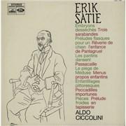 Aldo Ciccolini Satie: Pièces Pour Piano Album 3 France vinyl LP