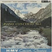 Aldo Ciccolini Tchaikovsky: Piano Concerto No.1 / Liszt: Mephisto Waltz UK vinyl LP