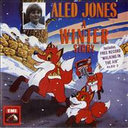 "Aled Jones A Winter Story + Walking In The Air UK 7"" vinyl"