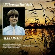 Aled Jones All Through The Night UK vinyl LP
