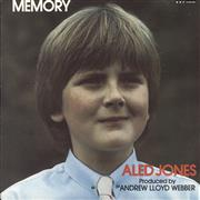 "Aled Jones Memory UK 7"" vinyl"
