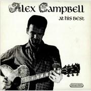 Alex Campbell Alex Campbell At His Best UK vinyl LP