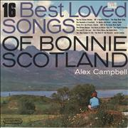 Alex Campbell Best Loved Songs Of Bonnie Scotland UK vinyl LP