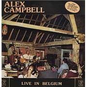 Alex Campbell Live In Belgium Belgium vinyl LP