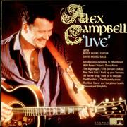 Alex Campbell Live UK vinyl LP
