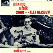 Click here for more info about 'Alex Glasgow - Mix Me A Folk Song - EX'