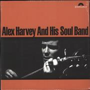Alex Harvey (UK) Alex Harvey And His Soul Band UK vinyl LP
