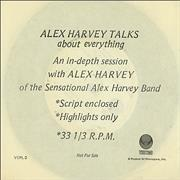 Click here for more info about 'Alex Harvey (UK) - Alex Harvey Talks'